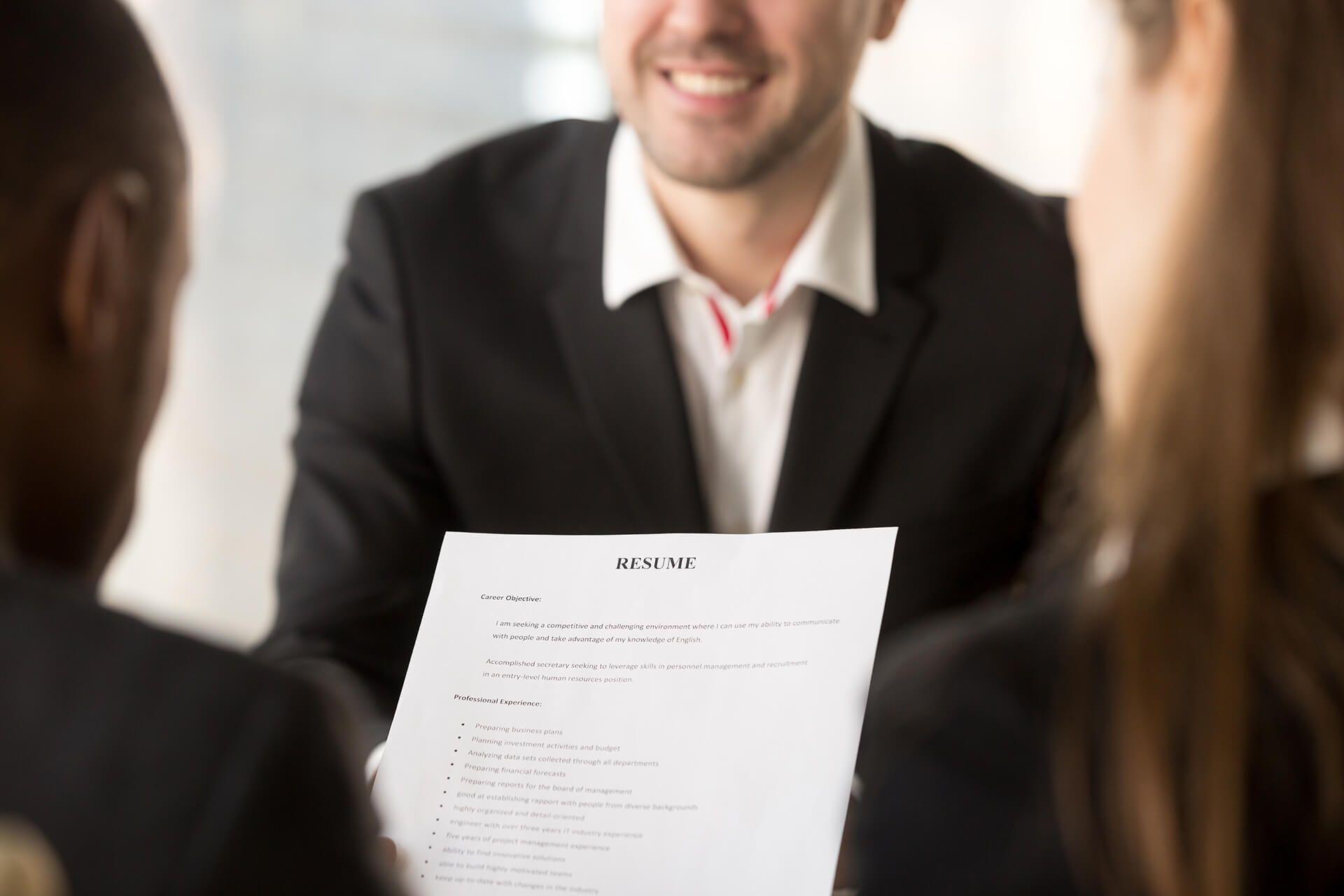 resume writing services edmonton