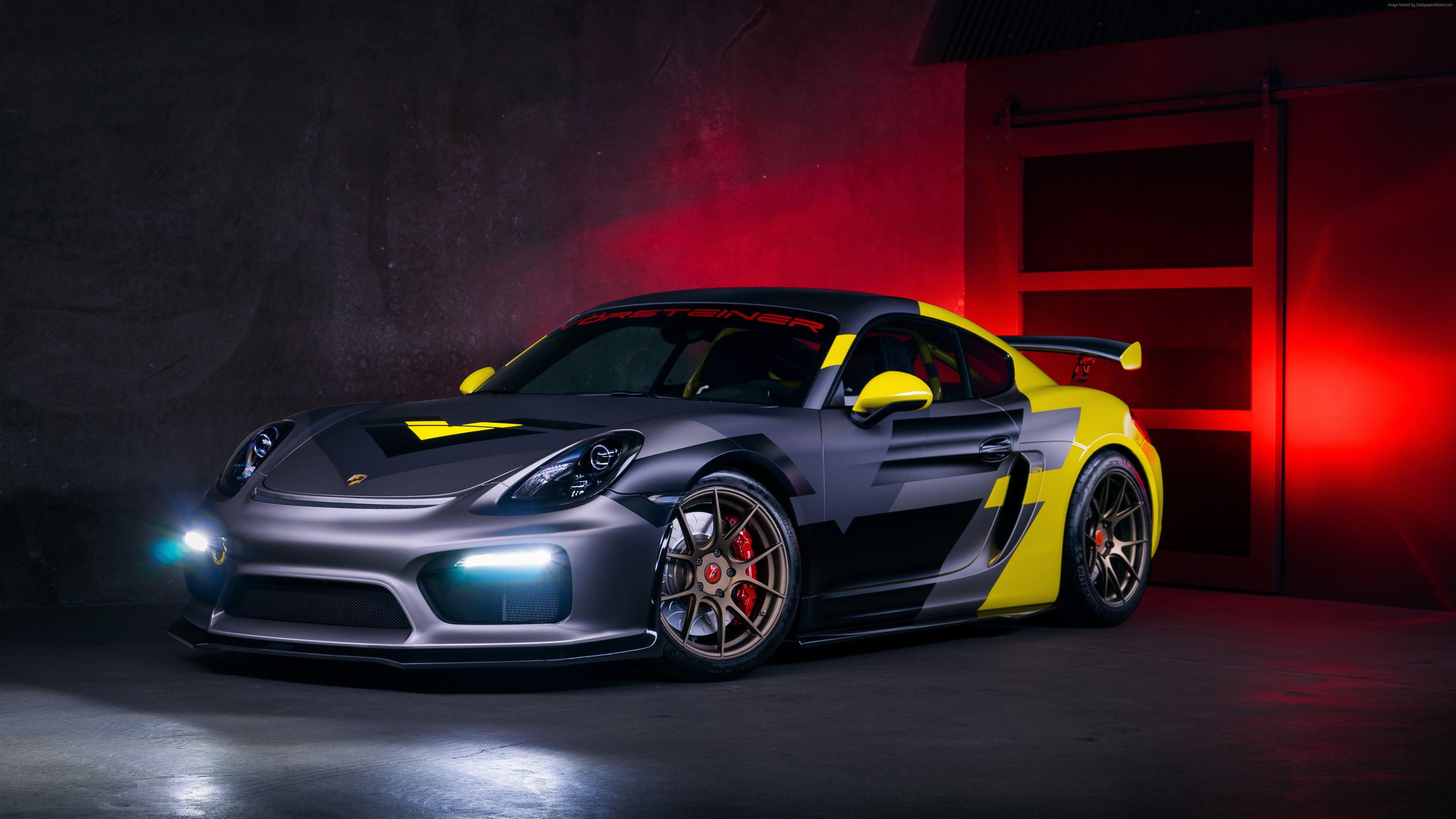 Vorsteiner Porsche Cayman Gt Wallpapers Hd Images Wsupercars Porsche Gt4 Cayman Gt4 Sport Cars