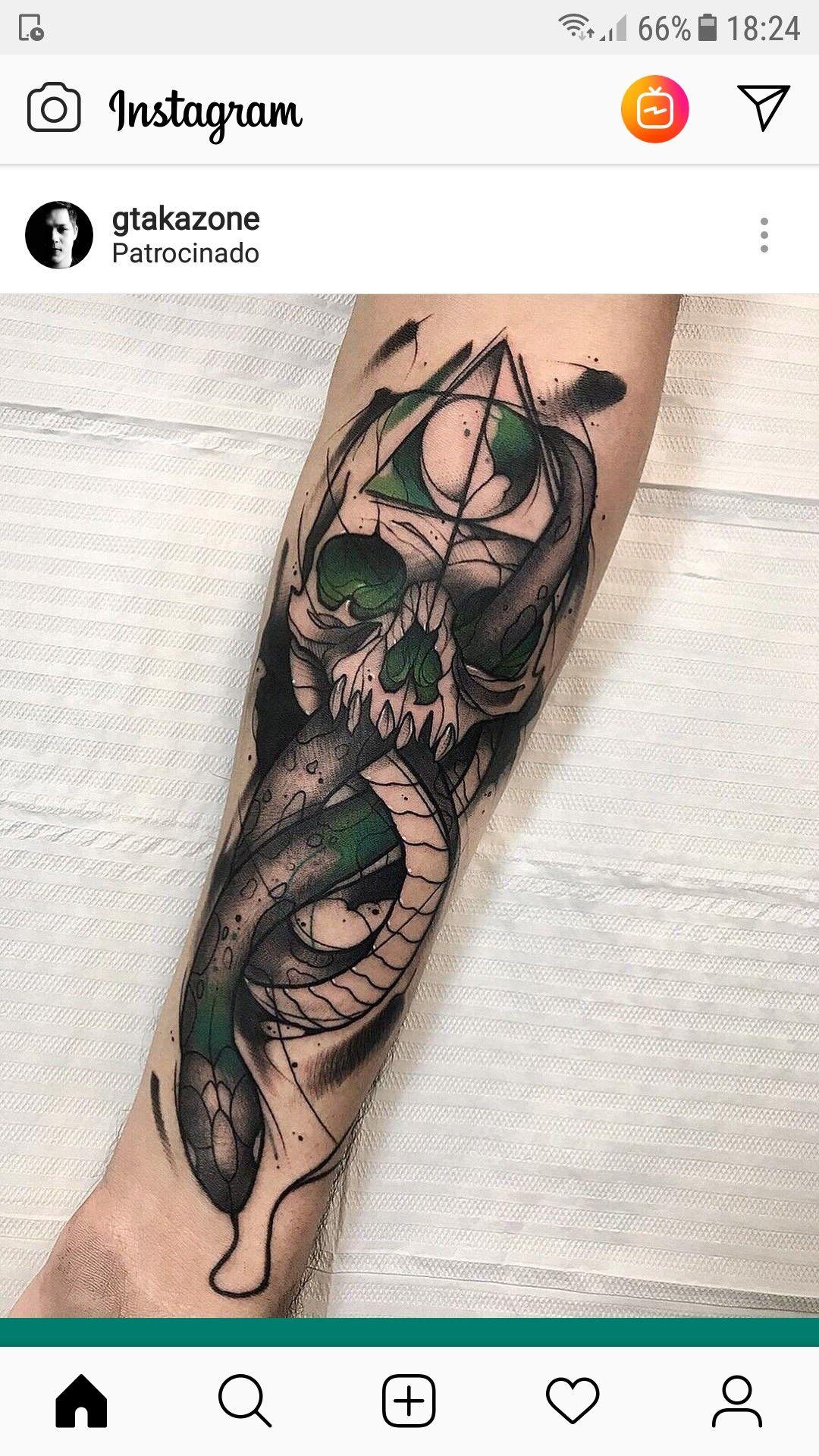 Tattoos image by Chris Politowski Harry tattoos, Dark