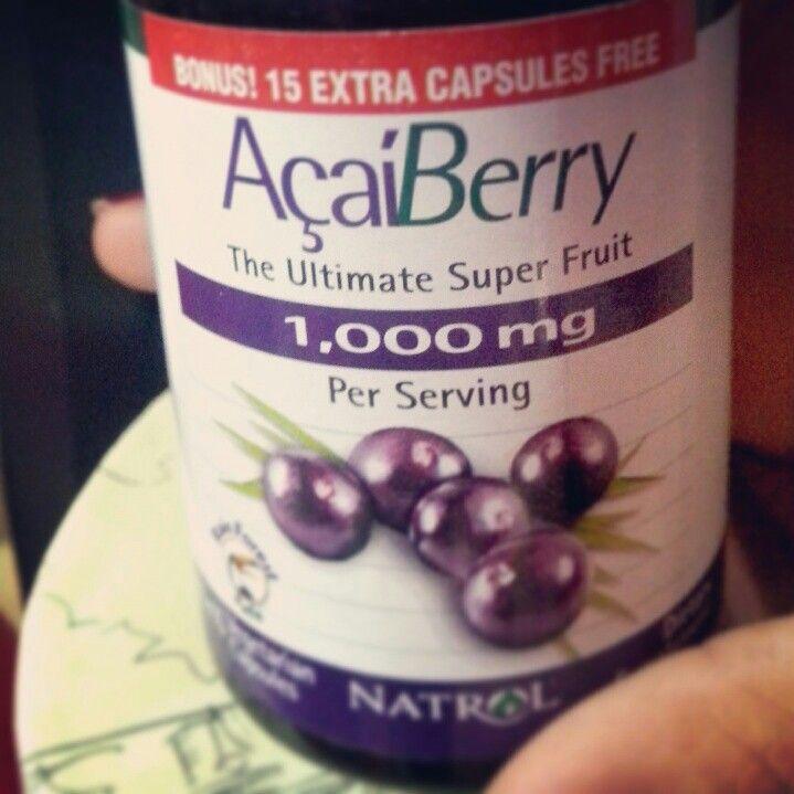 كبسولات اساي بيري للتنحيف تحتوي علی اساي بيري و شاي اخضر بخواصهم المضادة للاكسدة العالية و التي تساعد علی سد الشهية بصورة طبيعية تساع Superfruit Fruit Bottle