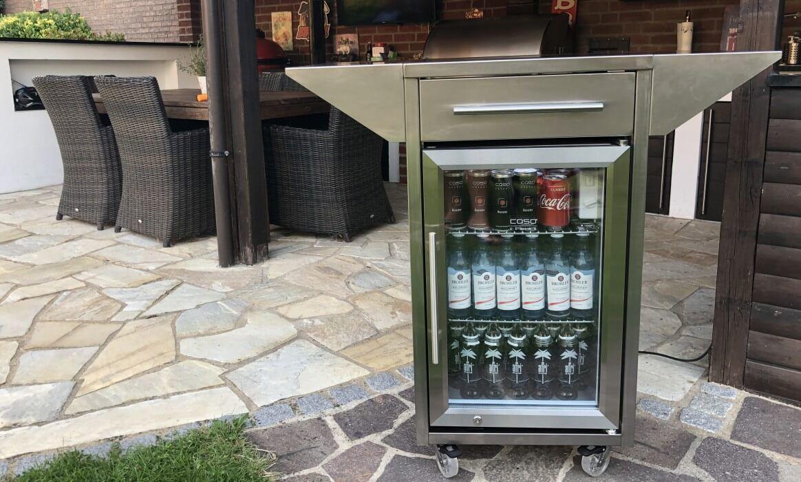 Outdoor Kuhlschrank Kaufen Der Caso Barbecue Cooler Bzw Counter Cool Gartenkuhlschrank Ist Witter Gartenkuhlschrank Outdoor Kuhlschrank Outdoor Grill Kuche