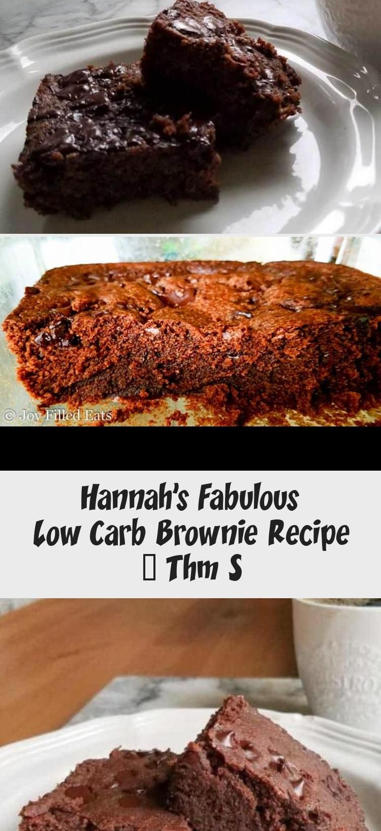 Hannah S Fabulous Low Carb Brownie Recipe Thm S In 2020