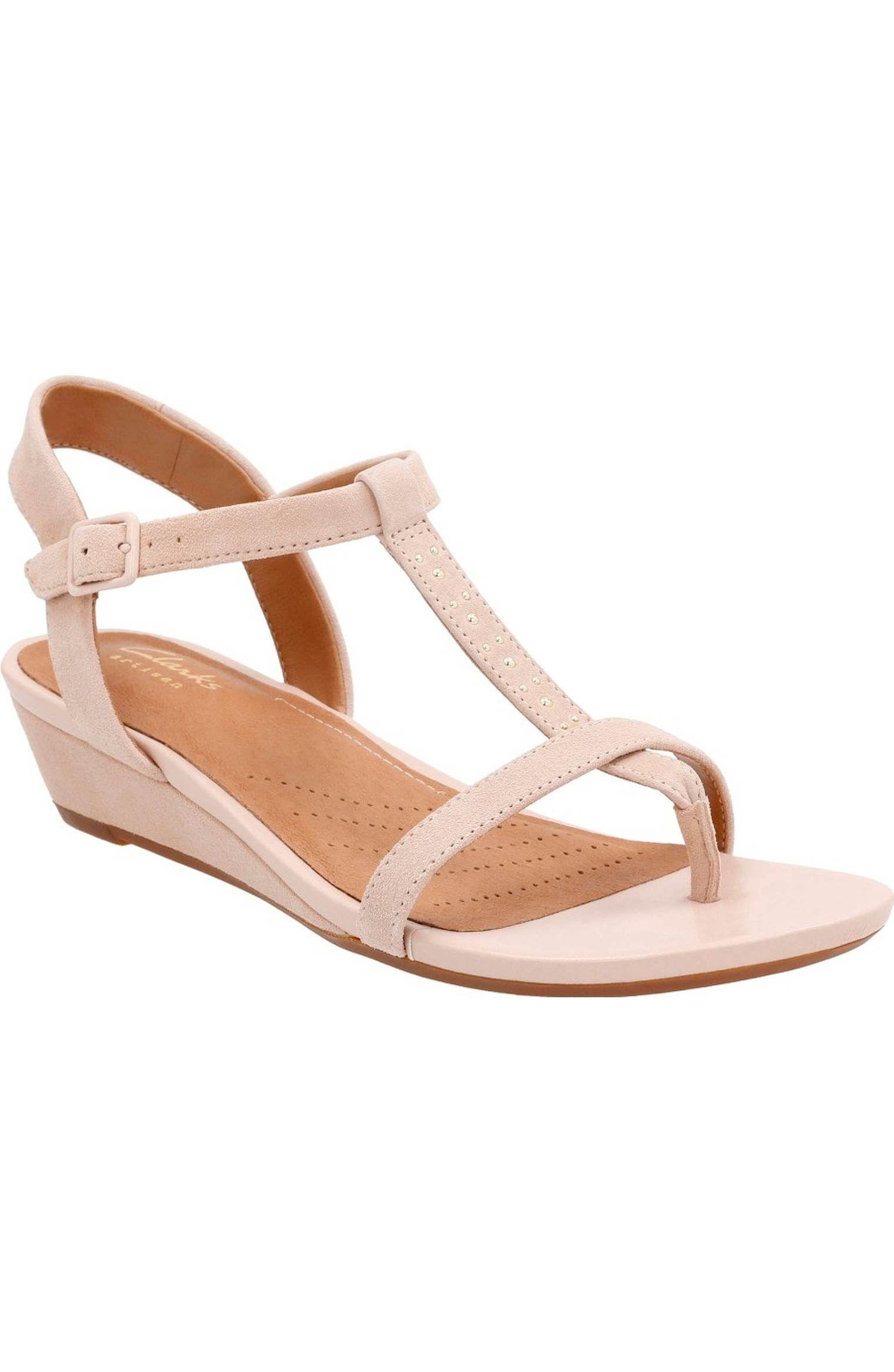 Main Image - Clarks® Parram Blanc Sandal (Women)
