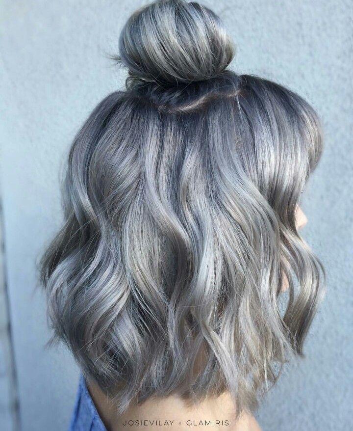 ✧ Pinterest: @tani00 | Hair | Pinterest | Gray hair, Gray and ...