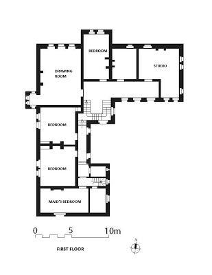 The Red House Plans And Elevations Denah Rumah Rumah Minimalis Rumah