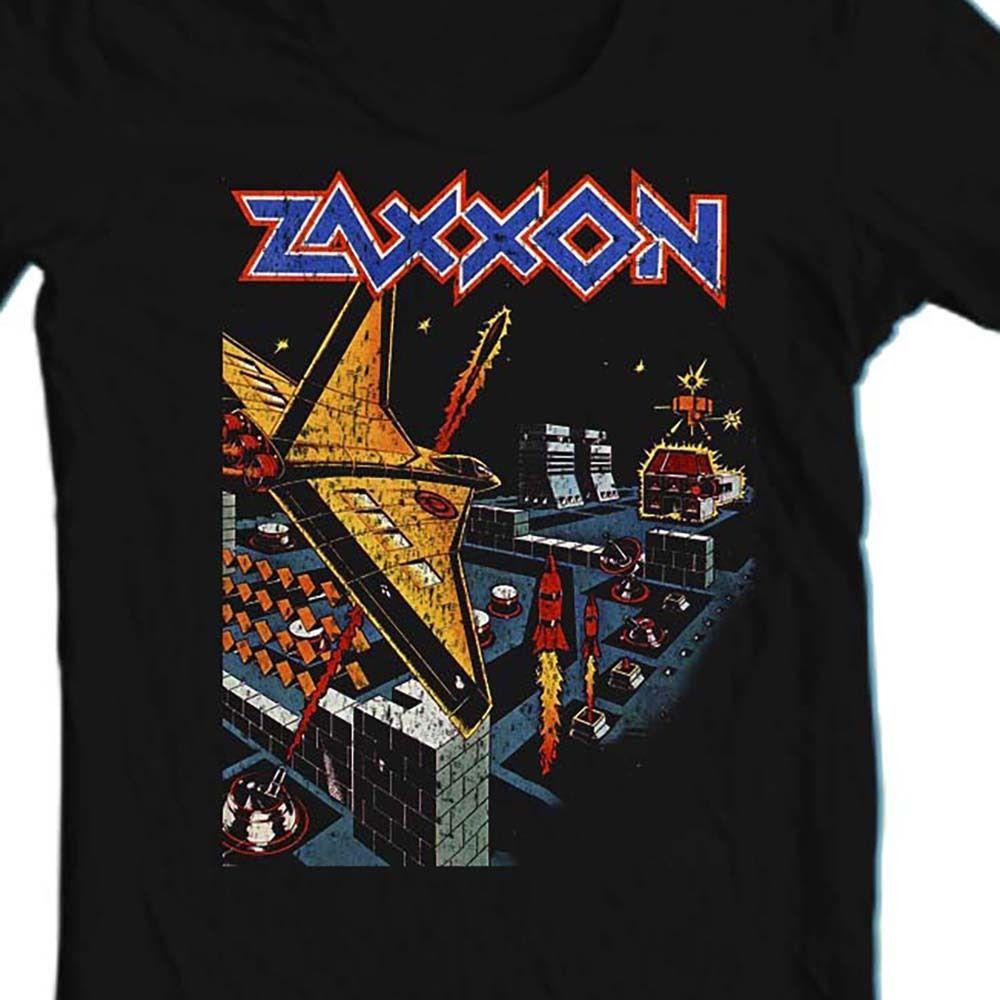 Zaxxon retro 80s video arcade game colecovision online tee