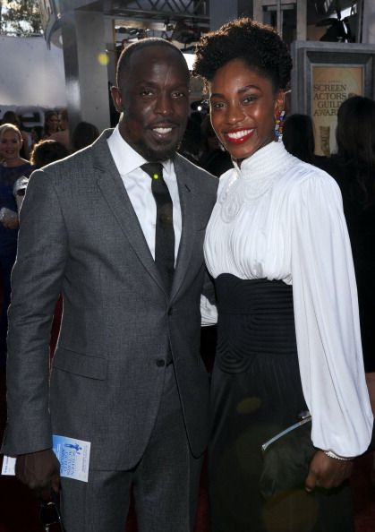 Just Lovely Michael K Williams And Wife Royal Brown