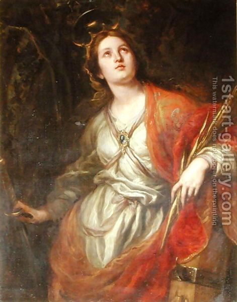 St Catherine Of Alexandria 1683 Claudio Coello Saint