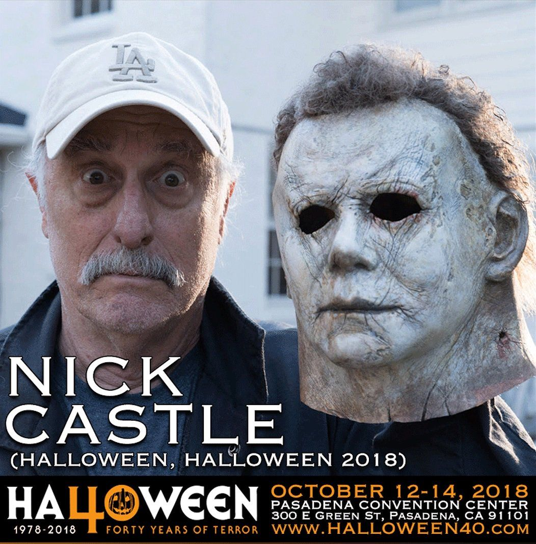 The *triumphant* return of Nick Castle!!🎃🔪😍 (With images