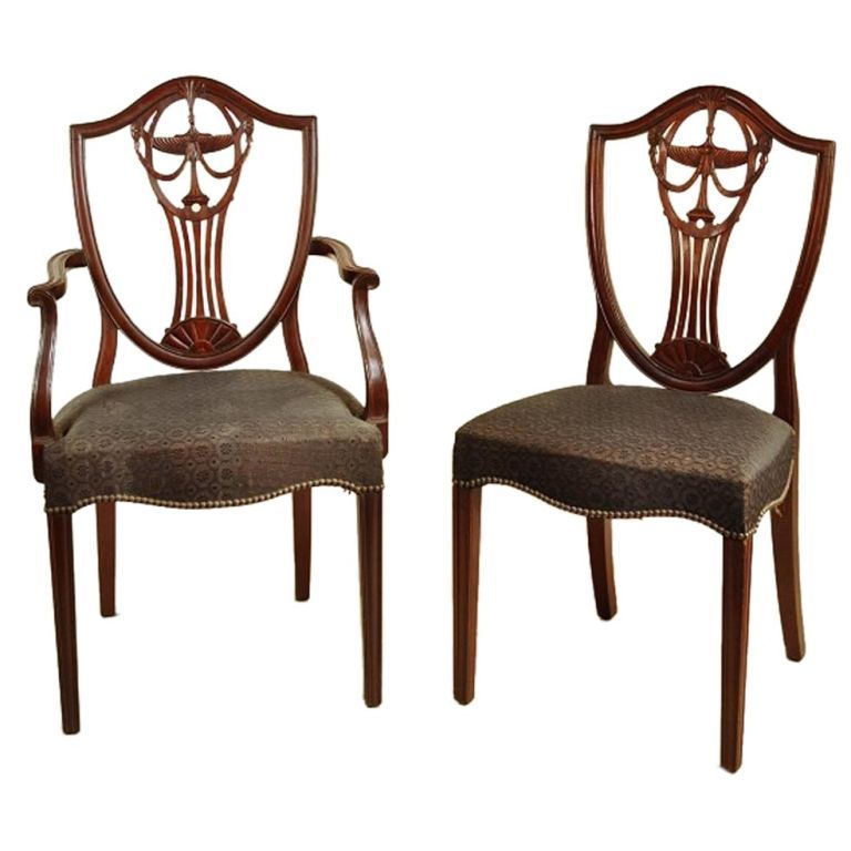 83  shield hepplewhite chair types  Google Search