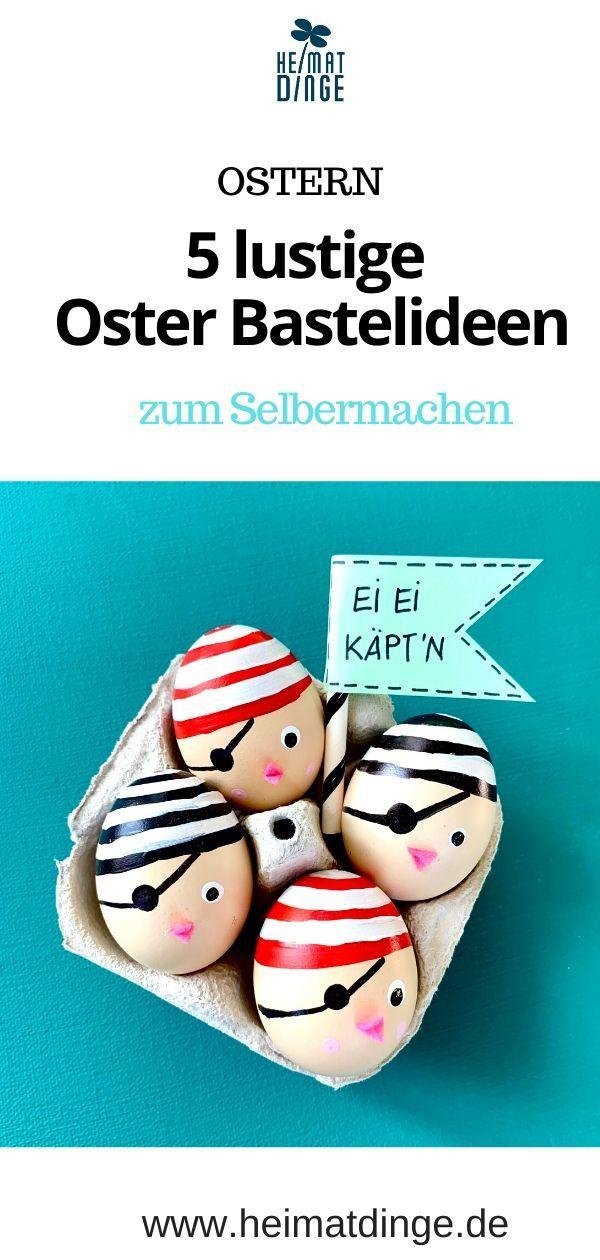 Ostern basteln mit Kindern: 5 ganz besondere Ideen