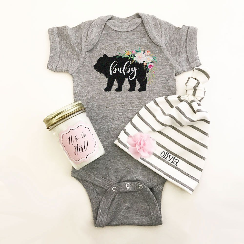 Rustic baby shower bodysuit free shipping code shipfree personalized baby hat personalized baby gifts custom baby hats personalized baby hat coming home outfit baby shower gift hat only negle Images