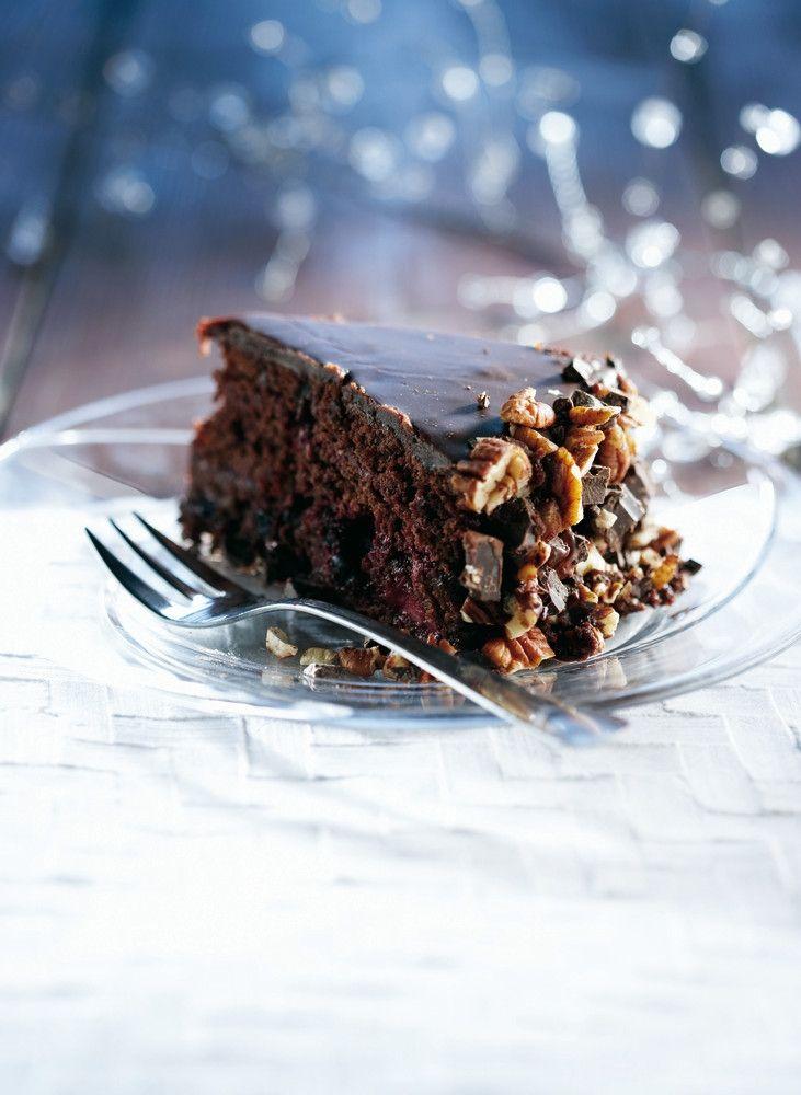 Marjainen suklaakinuskikakku | K-ruoka #joulu