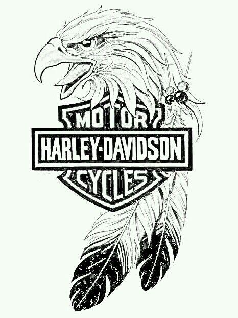 Pin By Becca Barnes On Random Stuff Projects Harley Tattoos Harley Davidson Tattoos Harley Davidson Art