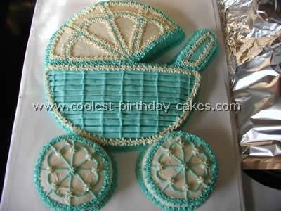 17 Best images about Baby Buggy Cake on Pinterest | Baby carriage ...
