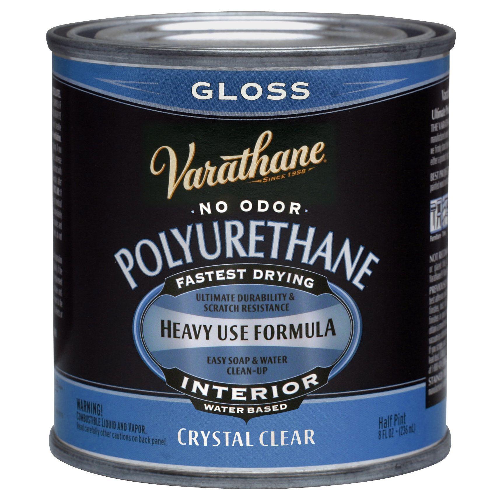 Varathane 200061h 1 2 Pt Gls Interior Water Based Diamond