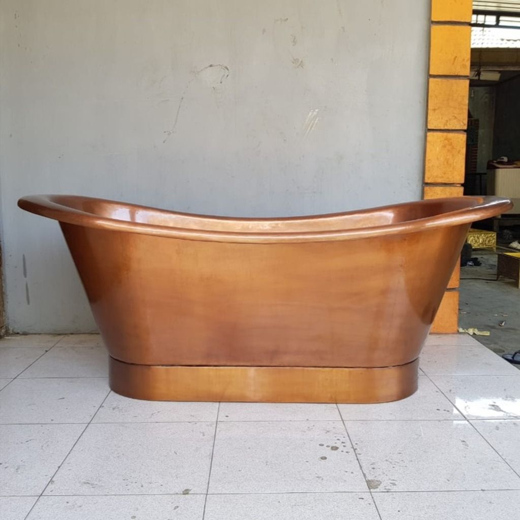 Pin Auf Badewanne Aus Kupfer Freistehende Badewannen Kupferwanne Kupferbadewanne Copper