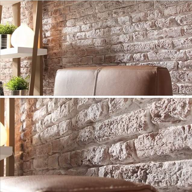 Fauxbrick From Dreamwall U K Loftbrick Whitebrick Faux Brick Panels Faux Brick Brick Paneling
