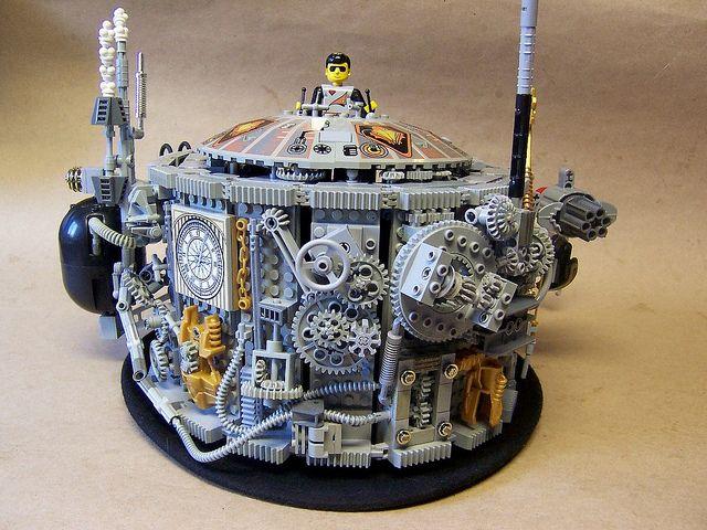 Lego Steampunk Hat by monsterbrick, via Flickr