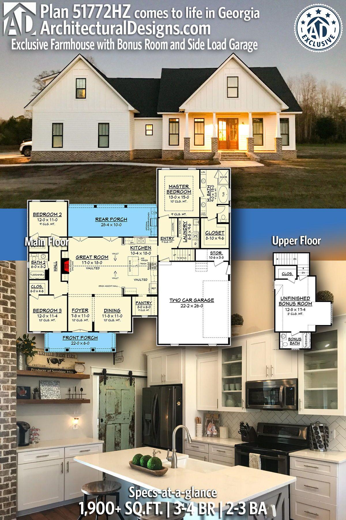 Pin On Farmhouse Home Plans