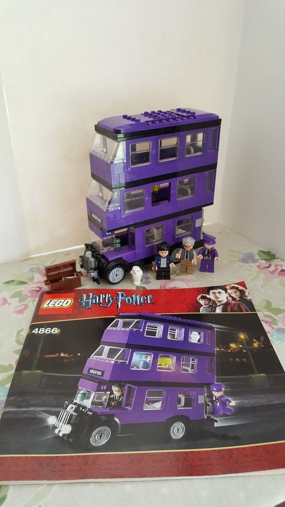 Lego Harry Potter 4866 Knight Bus Complete With Instructions Stuff