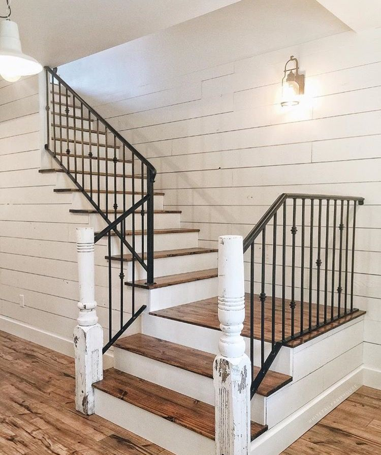 Floors. Farmhouse StairsWhite ...
