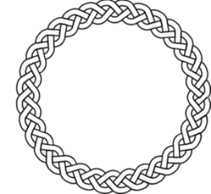 stain glass celtic circle outline - Google Search