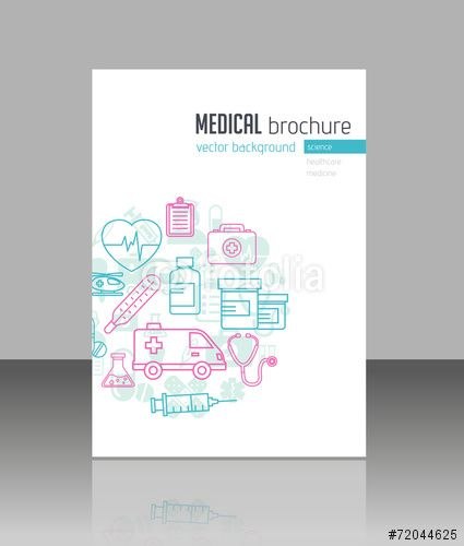 Vector Medical Brochure Think This Makes For An Interesting Cover