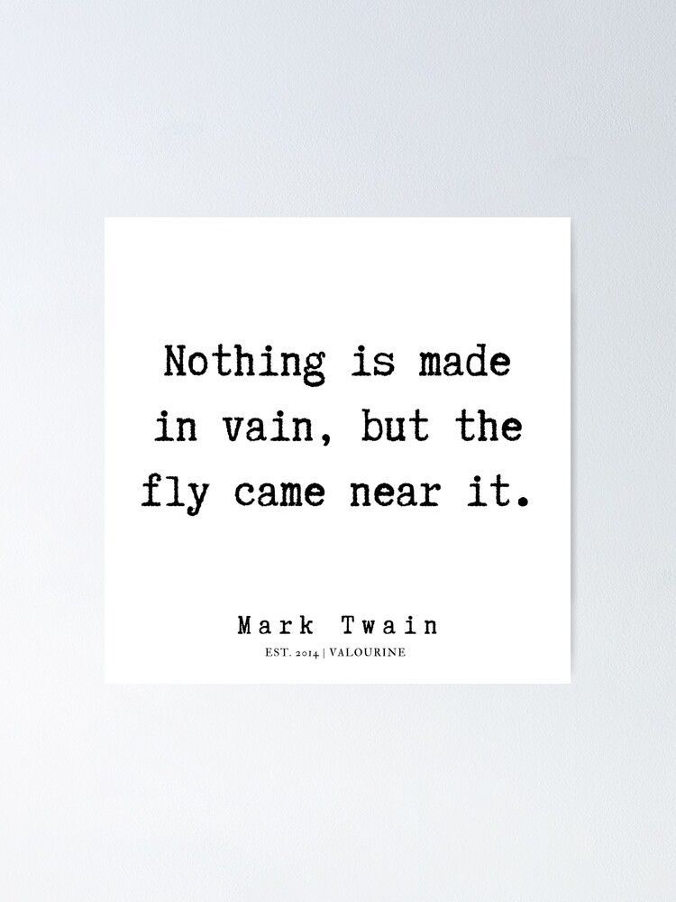 66   | Mark Twain Quotes | 190730 Poster by QuotesGalore