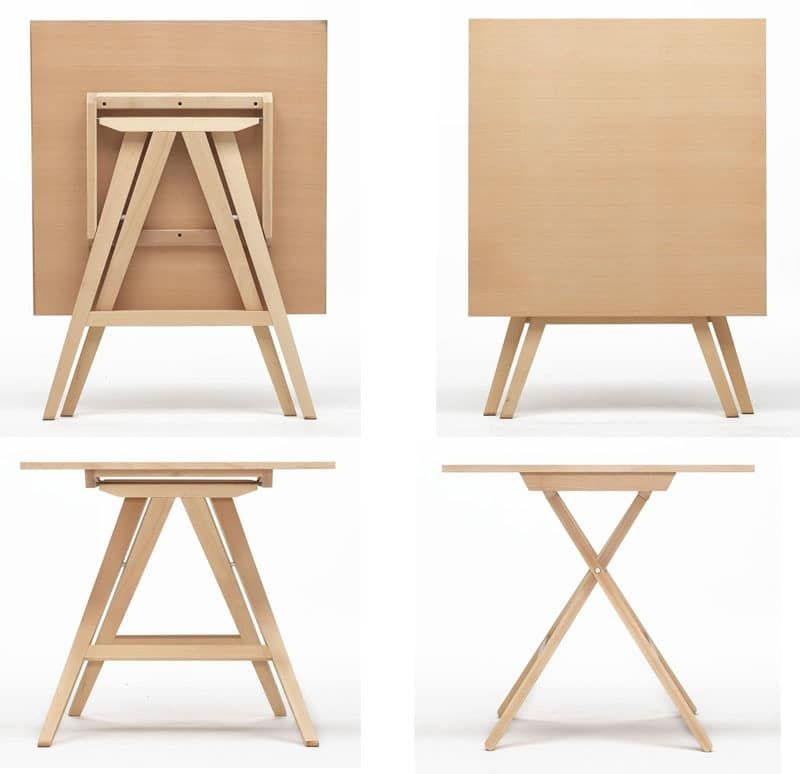 Enea Space Saving Table For Home School And Outdoors Folding