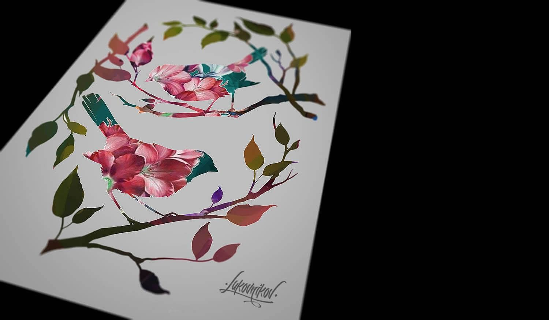 Wonderful double exposure tattoos by andrey lukovnikov wonderful