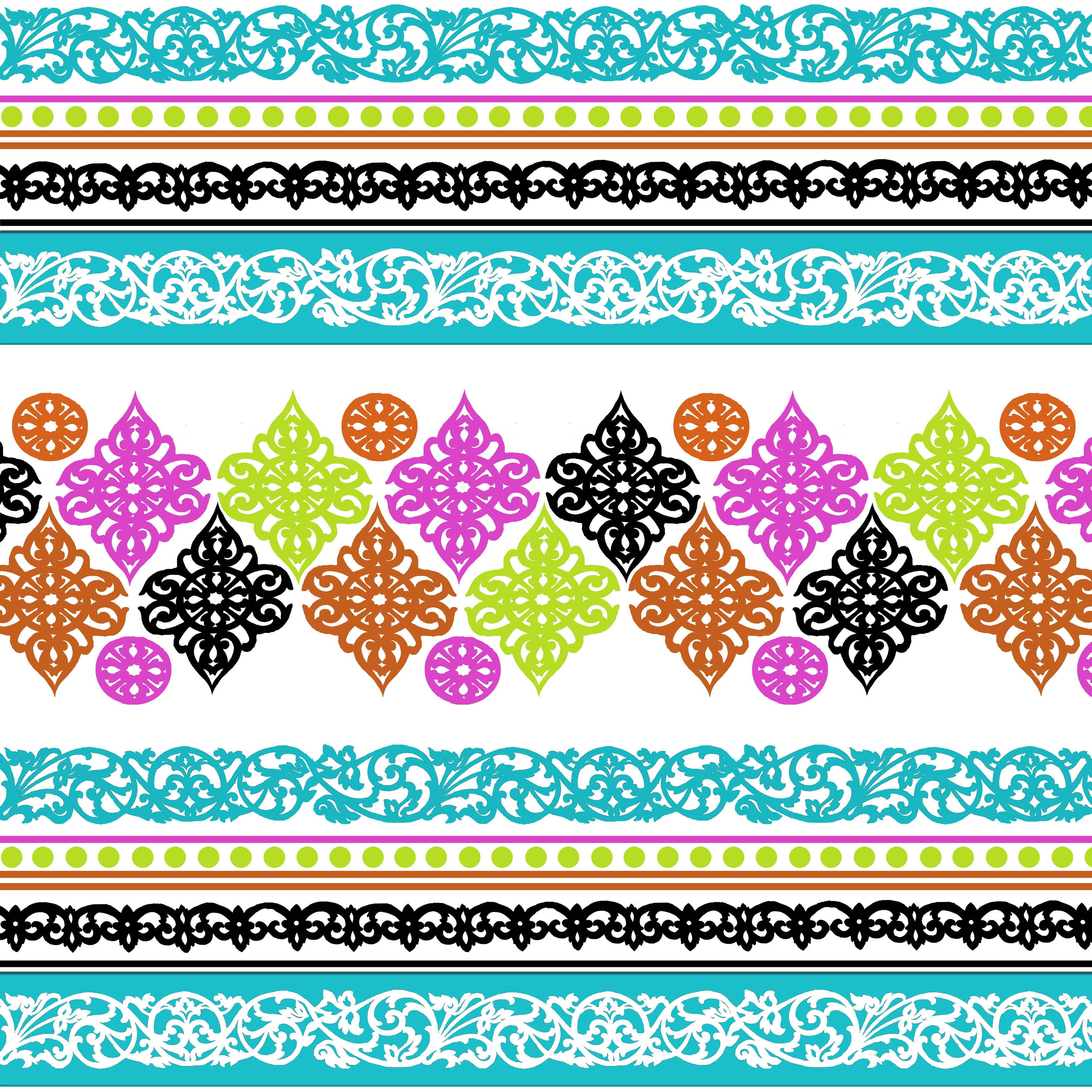 A colourful print design inspired by my travels around South East Asia. Gemma Lofthouse ©