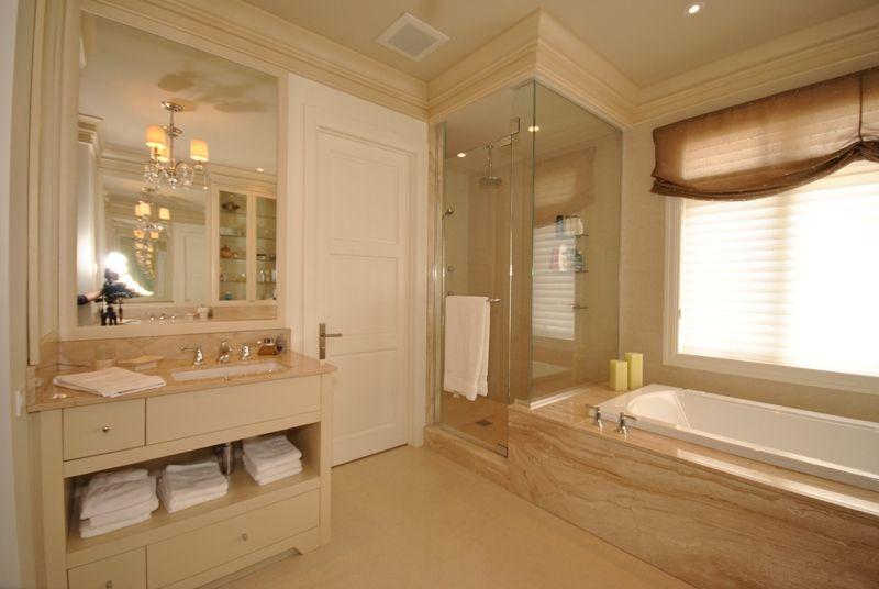 chic et elegante salle de bain des