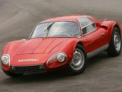 1964 Aguzzoli Condor , built on an Alfa Giulia TZ chassis , powered by a Giuletta TZ engine