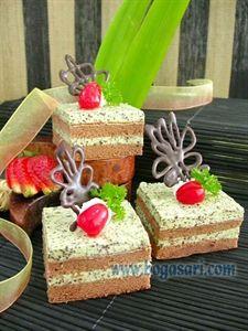 Resep Chocolate Mint Sponge Cake Bogasari Kue Bolu Makanan Kue