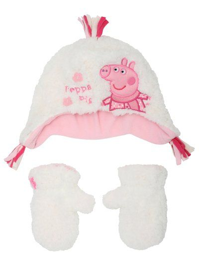 abe5456bb472b Peppa Pig Hat and Gloves - http   www.mandco.com