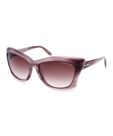 Another great find on #zulily! Purple Lana Sunglasses #zulilyfinds