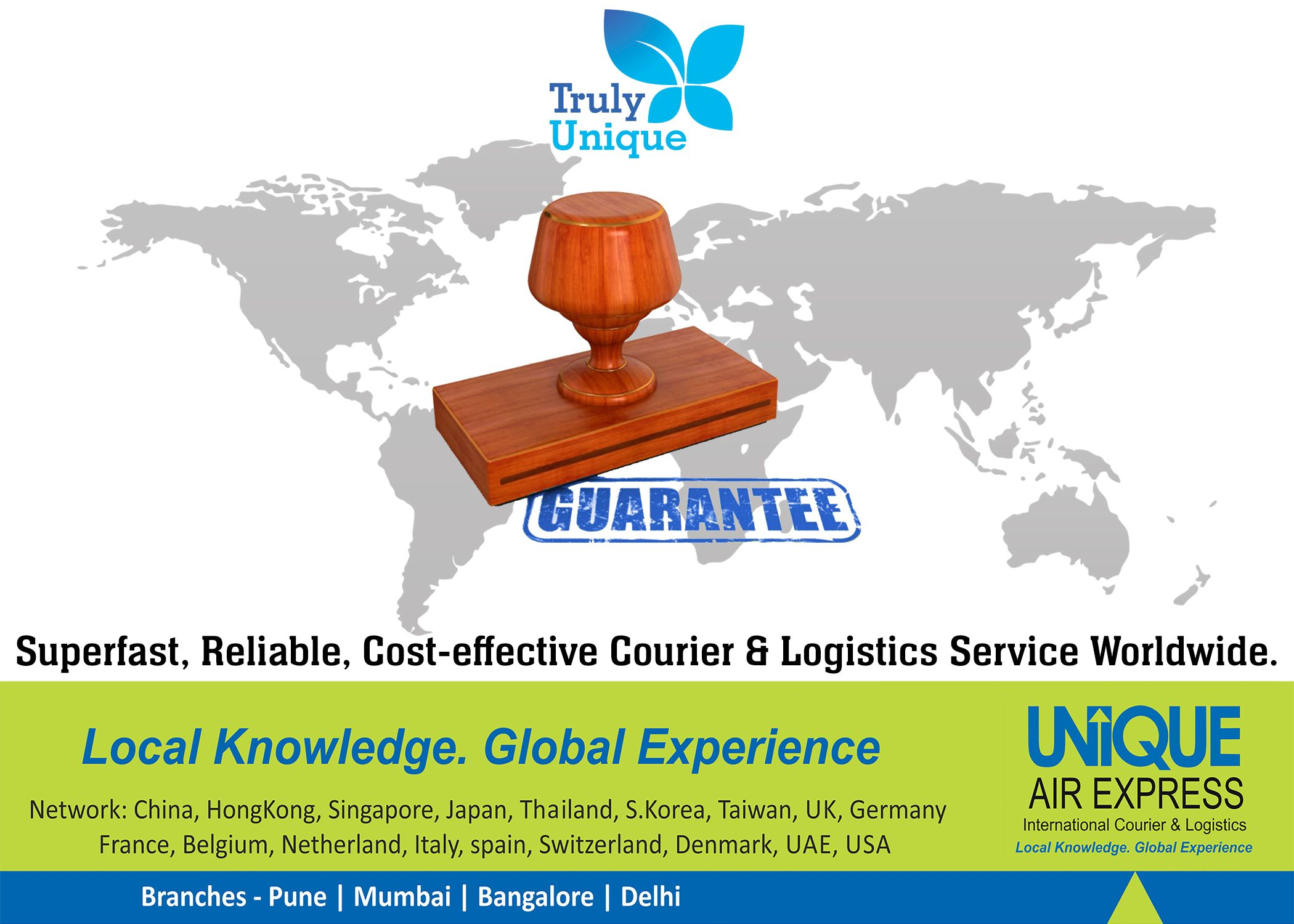 Unique Air Express provides Superfast, Reliable and Cost
