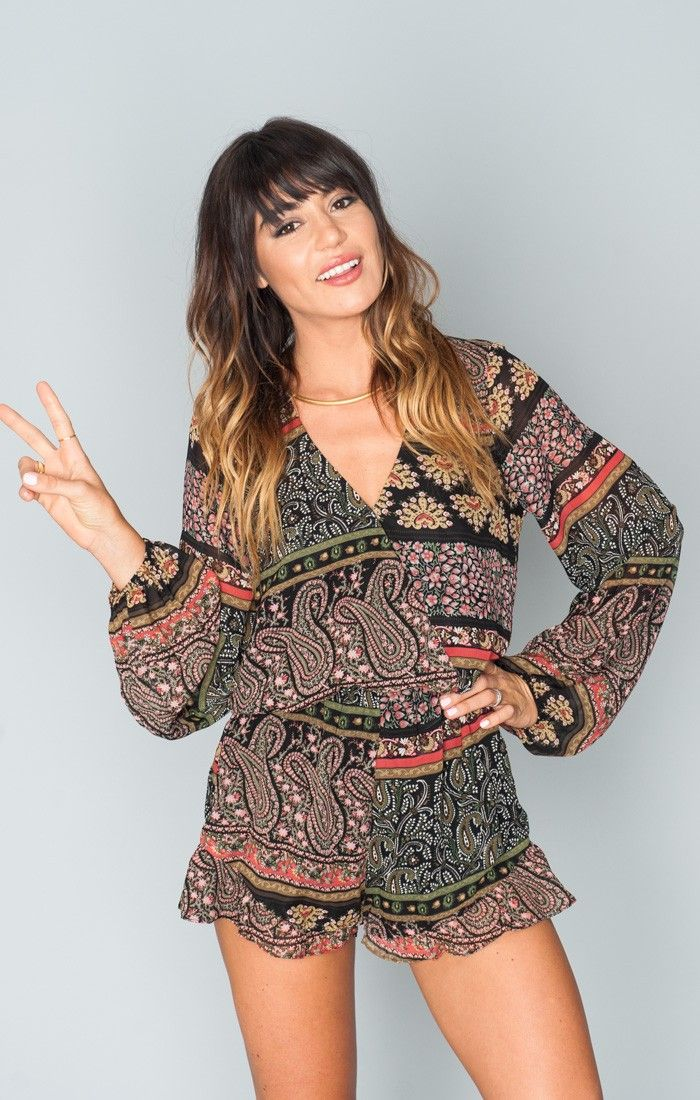 Rocky Romper ~ Lovely Paisley  ~ Show Me Your Mumu