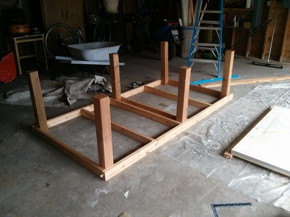 Exceptional How To Build A Concrete Ping Pong Table U2014 Joe Learns Things