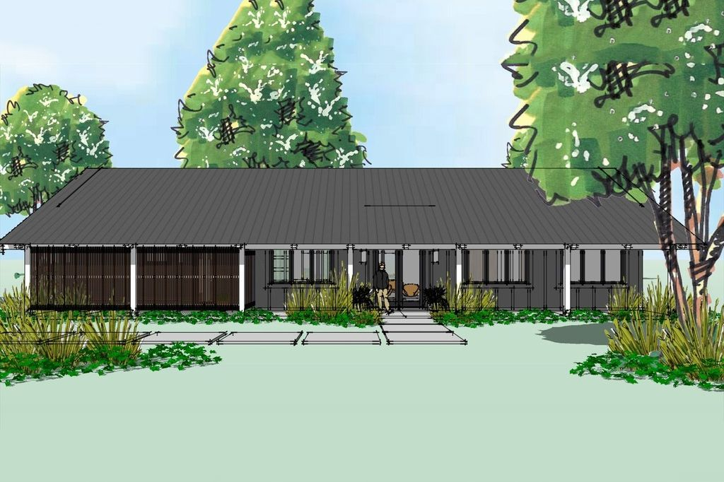 Modern Ranch home design, front elevation | House plans ... on ranch house front elevation, ranch style homes craftsman, southern home elevations, log home elevations, southwestern home elevations, single level home elevations, cape cod home elevations, golf course home elevations, one story home elevations, craftsman house elevations, english home elevations, ranch style house exterior facelift, residential home elevations, country home elevations, coastal home elevations, modern home elevations, estate home elevations, farmhouse home elevations, ranch style homes cottage, ranch homes with porches,