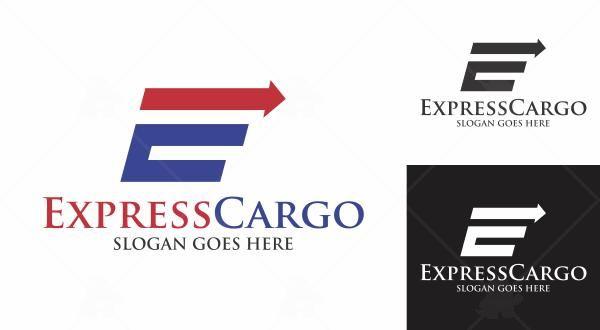 Express Cargo Logo Express Logo Logos Logistics Logo