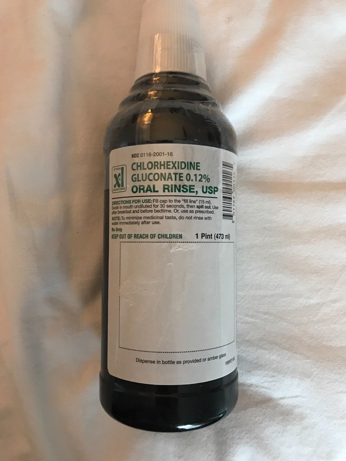 Mouthwash 180266 4 Bottles Chlorhexidine Gluconate BUY IT NOW ONLY 45