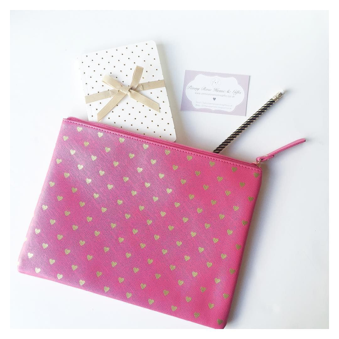 Pretty pink pouches  don't forget there's 15% off everything with code 'BHOL15'. Ends Monday.
