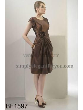 #Modest #short #bridesmaid dress | multiple colors immediately available | Simply Elegant | Fort Mill SC | simplyelegantforyou.com