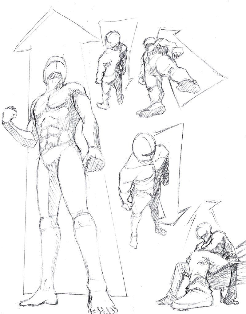 Human Perspective 1 Low And High Views By Shinsengumi77 On Deviantart Art Reference Poses Sketches Perspective Art