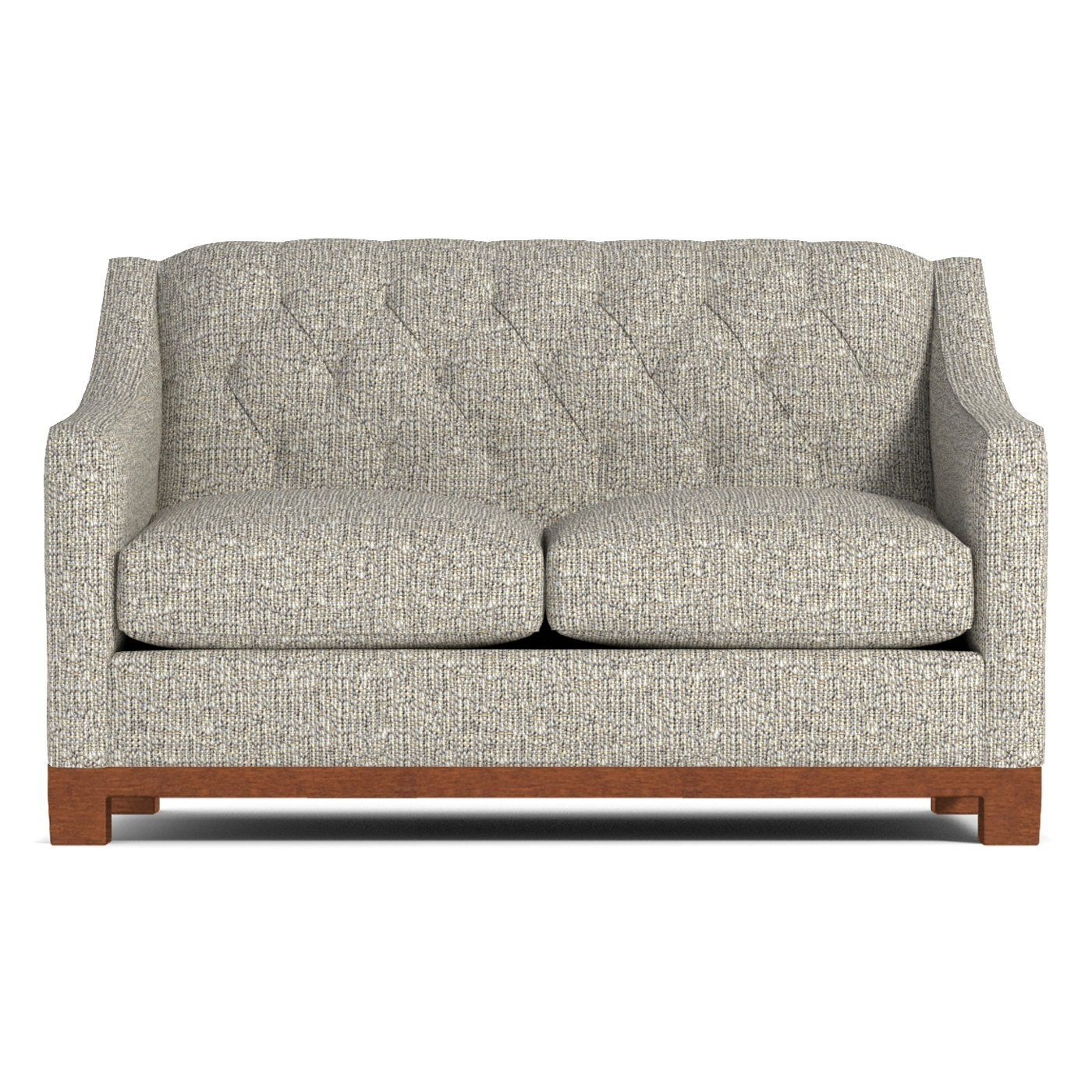 Jackson Heights Apartment Size Sofa :: Leg Finish: Pecan ...