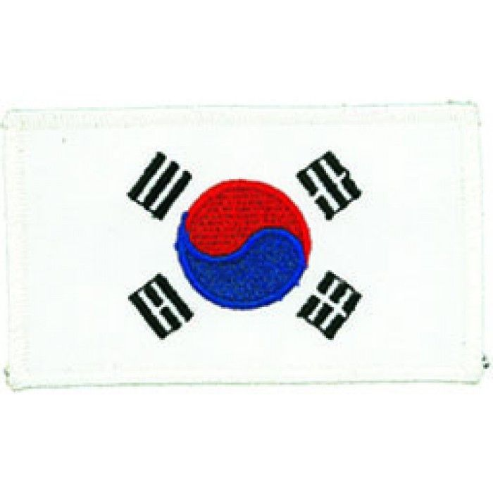 Korean Flag Patch b2479