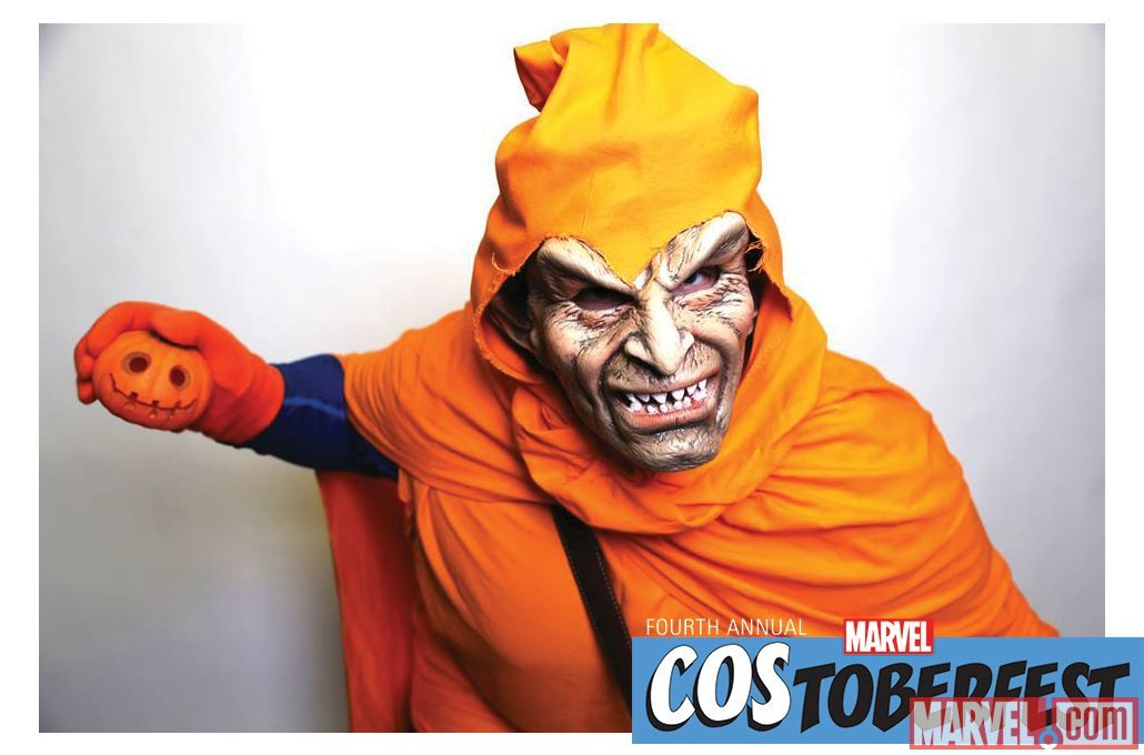 Costoberfest 2014: Chris Wilson as the Hob Goblin #costumeinspiration