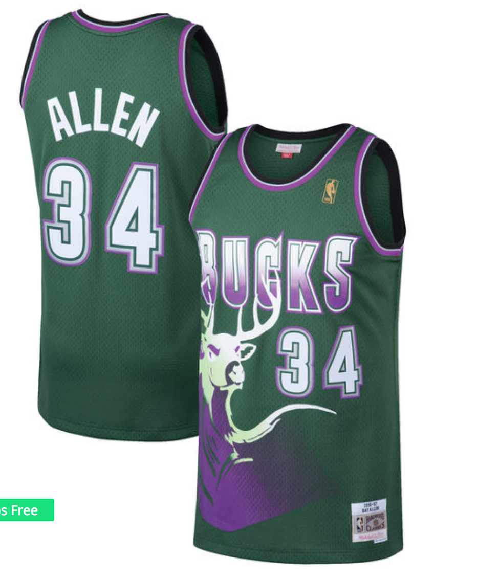 bucks retro jersey